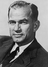 An earlier portrait of Senator Fulbright.