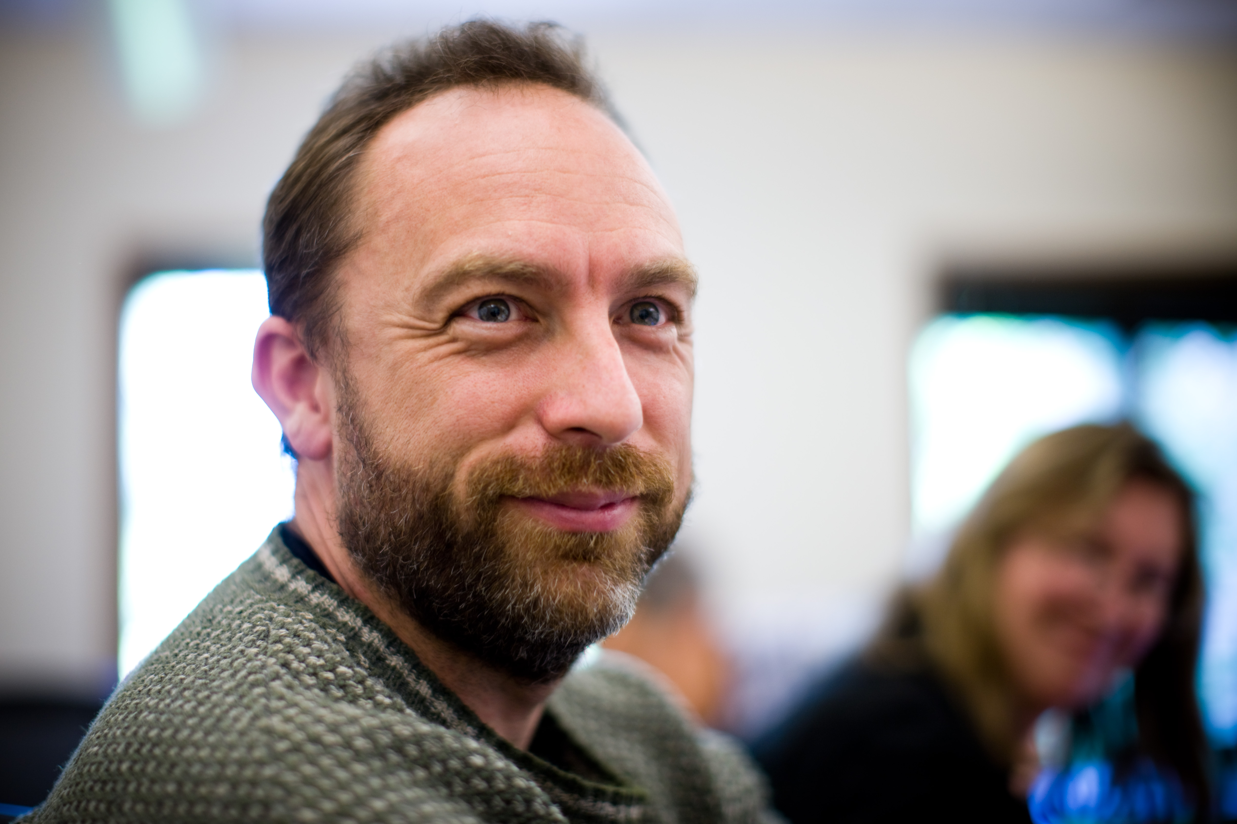 Jimmy Wales Wikitribune project