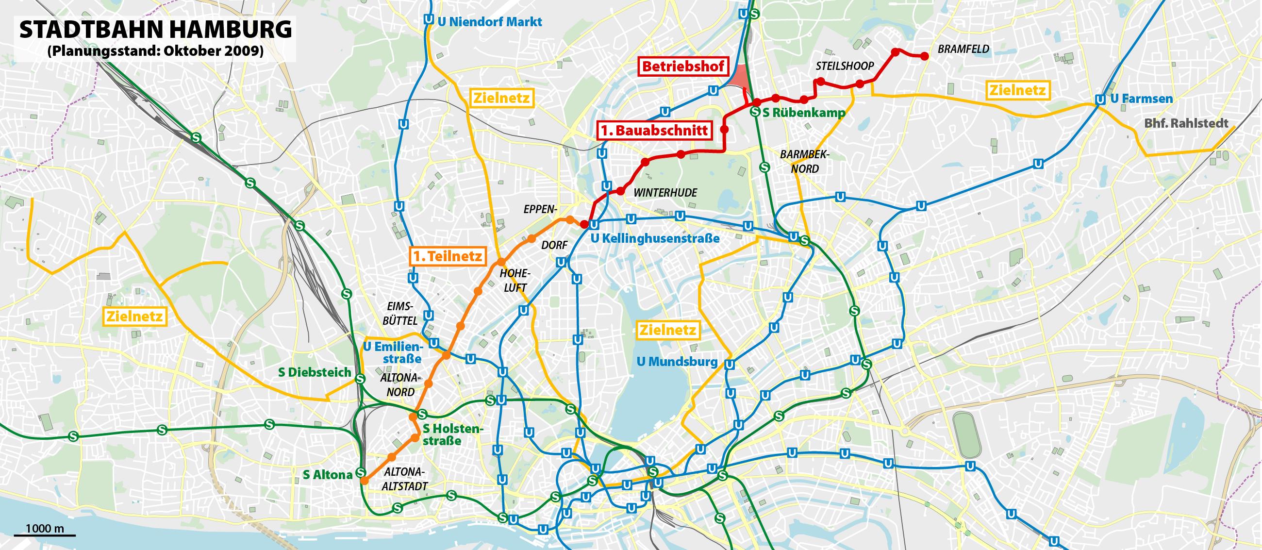 öpnv hamburg karte Stadtbahn Hamburg – Wikipedia