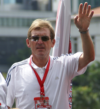 Kenny Dalglish scored a joint record 30 goals in a record 102 international appearances for Scotland between 1971 and 1986. Kenny Dalglish 2009 Singapore.jpg