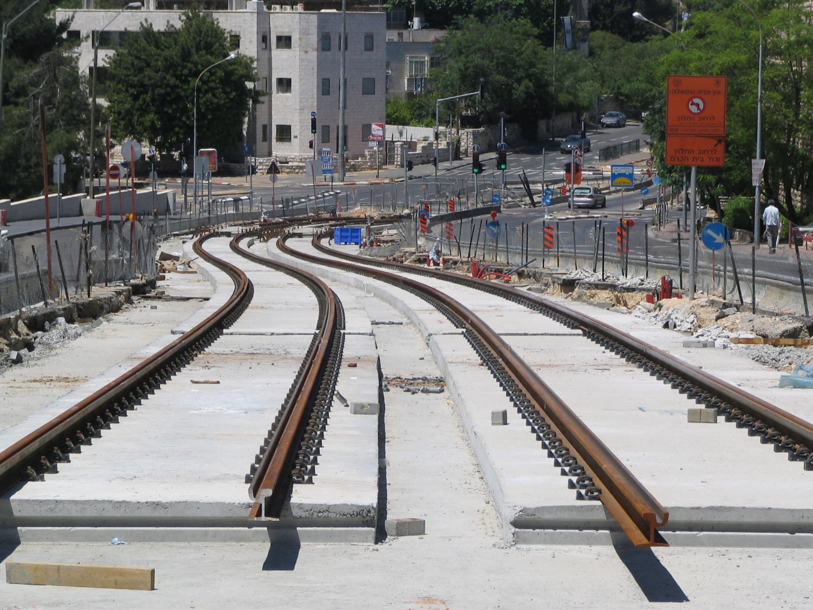 FileLight rail tracks on Herzl Blvd.jpg & File:Light rail tracks on Herzl Blvd.jpg - Wikimedia Commons azcodes.com