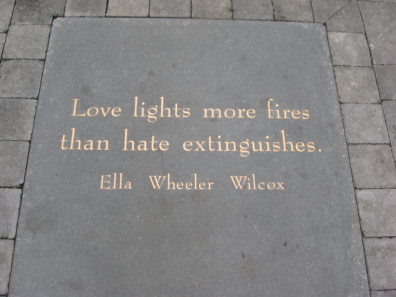 File:Love Lights More Fires Than Hate Extinguishes By Ella Wheeler Wilcox    Jack Kerouac