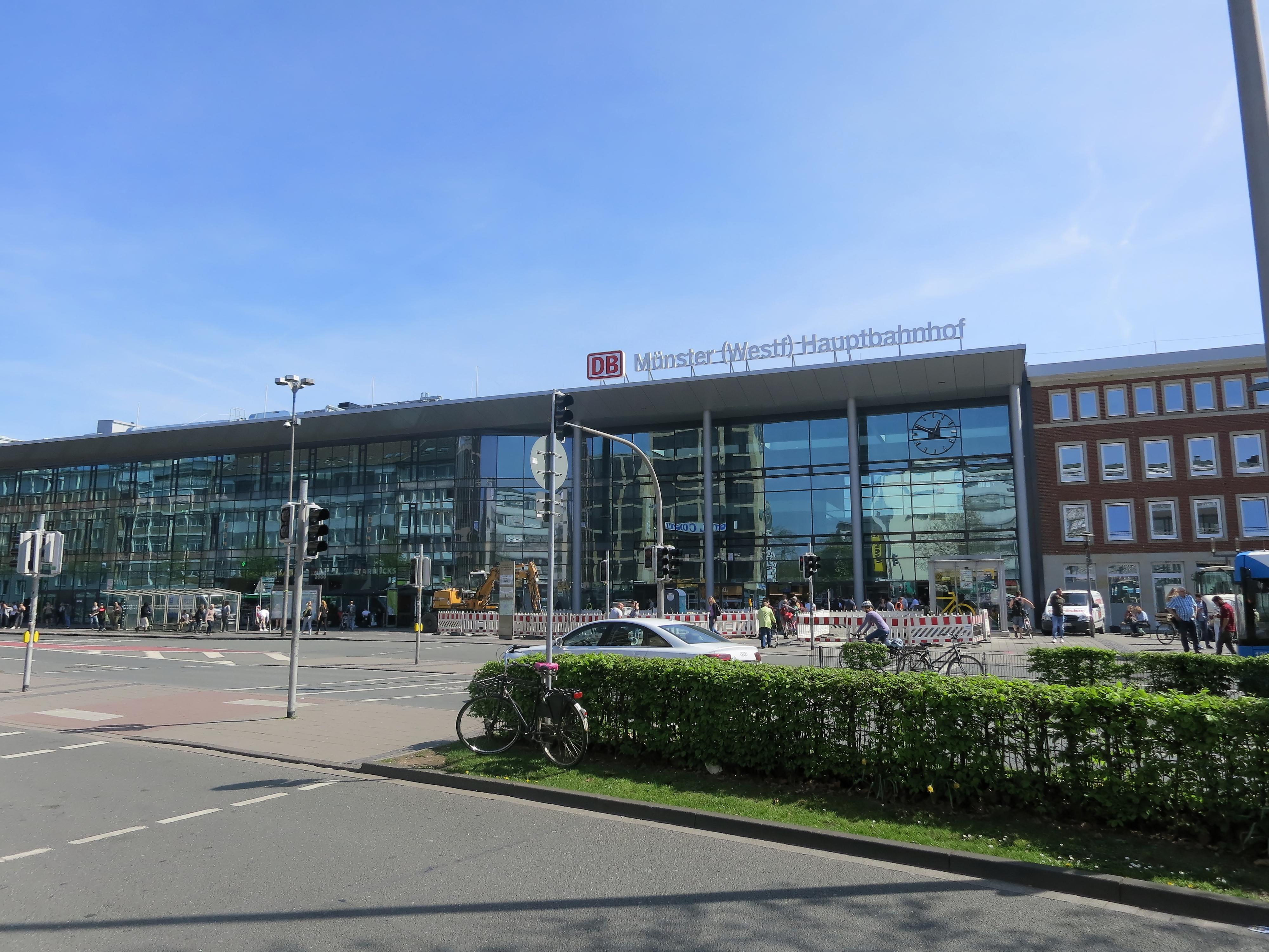Münster Westfalen Hauptbahnhof Wikipedia