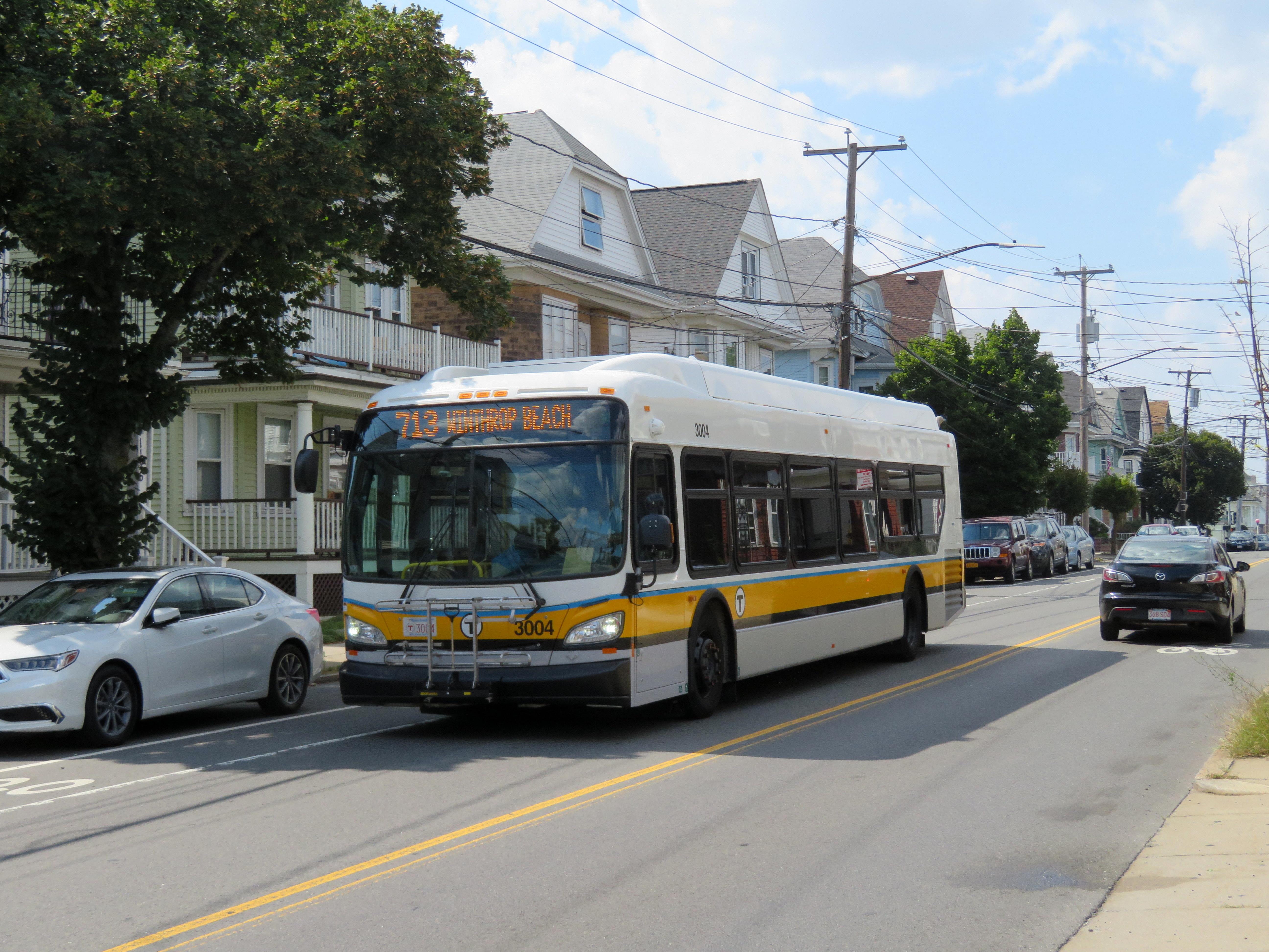 File Mbta Route 713 Bus On Saratoga Street August 2018