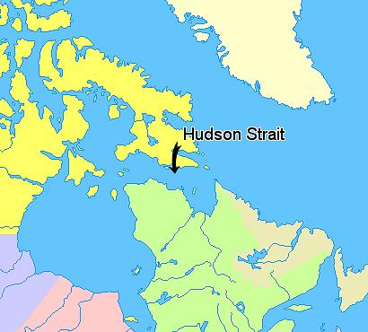 Hudson Strait  Wikipedia