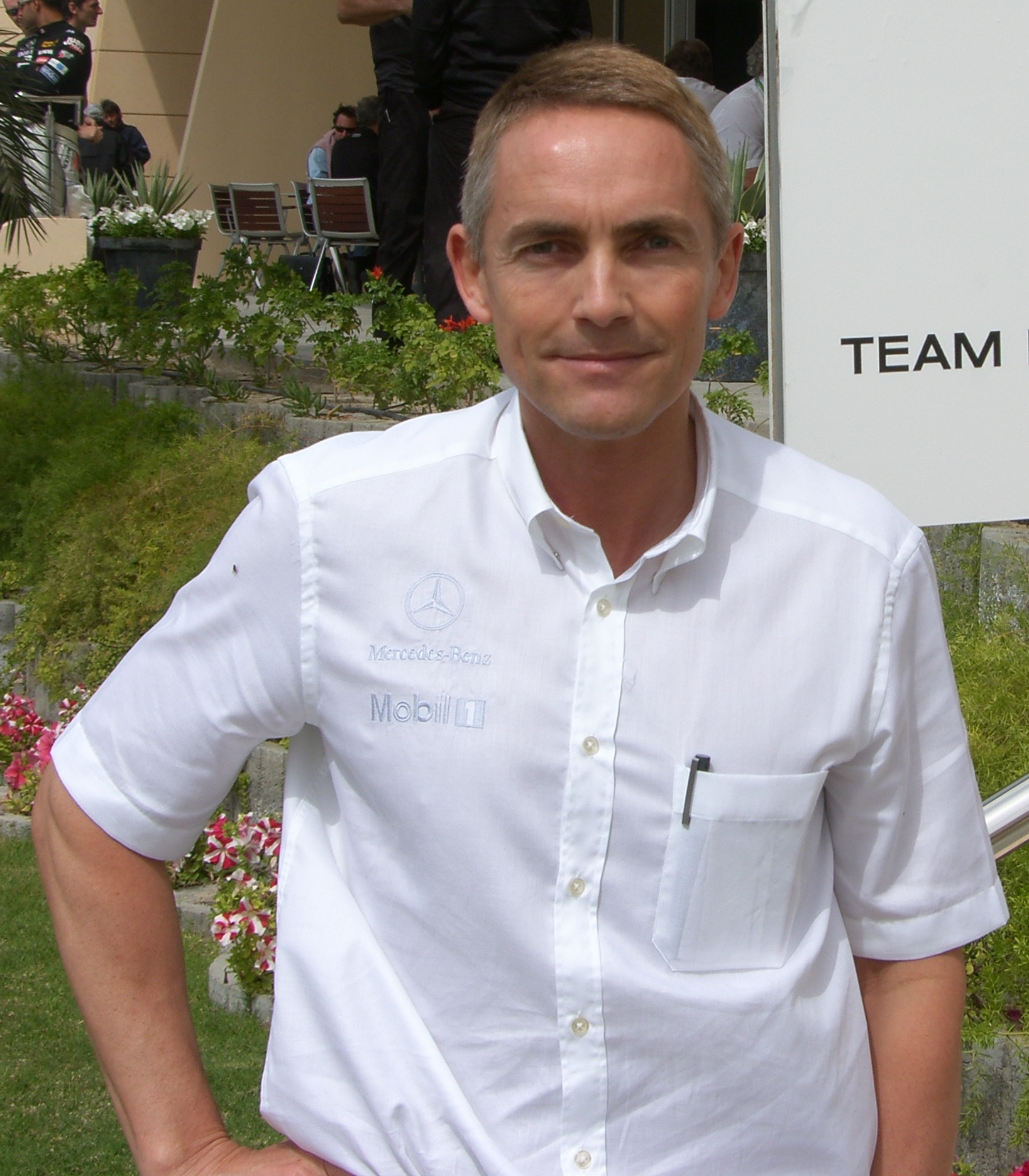 The 60-year old son of father (?) and mother(?) Martin Whitmarsh in 2018 photo. Martin Whitmarsh earned a  million dollar salary - leaving the net worth at 10 million in 2018
