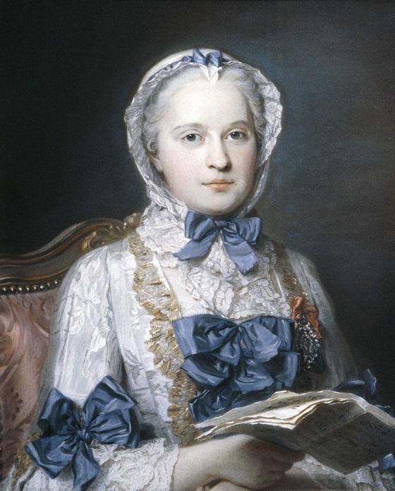 Maurice Quentin de La Tour, Marie-Josèphe de Saxe, dauphine (1749).jpg