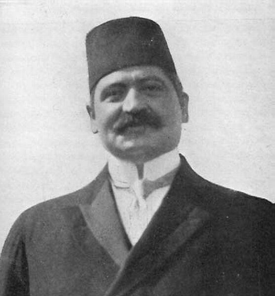 Мехме́д Талаа́т-паша́ 10 апреля 1874 — 15 марта 1921)