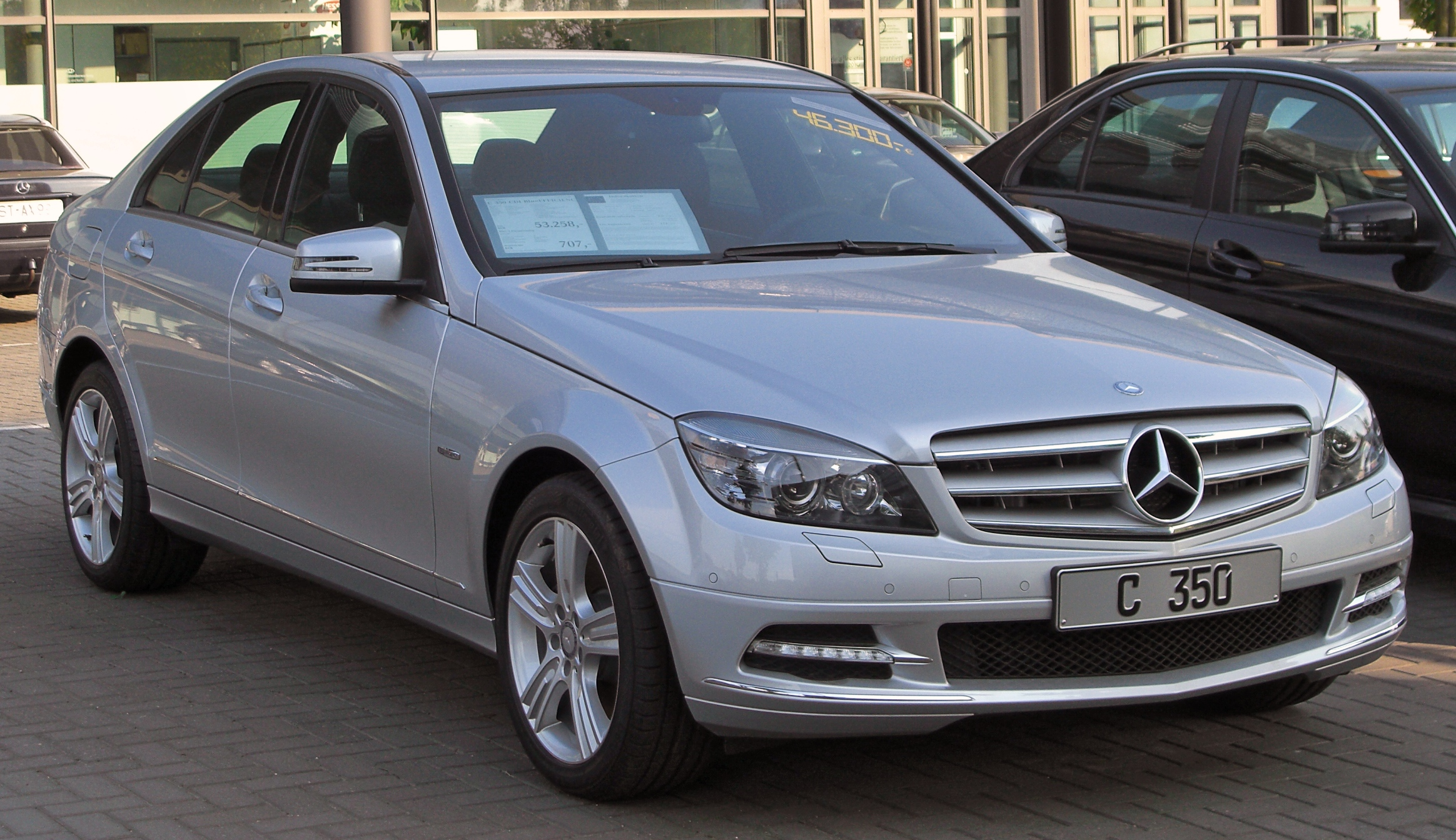 File mercedes c 350 cdi blueefficiency avantgarde special for Mercedes benz 350 c