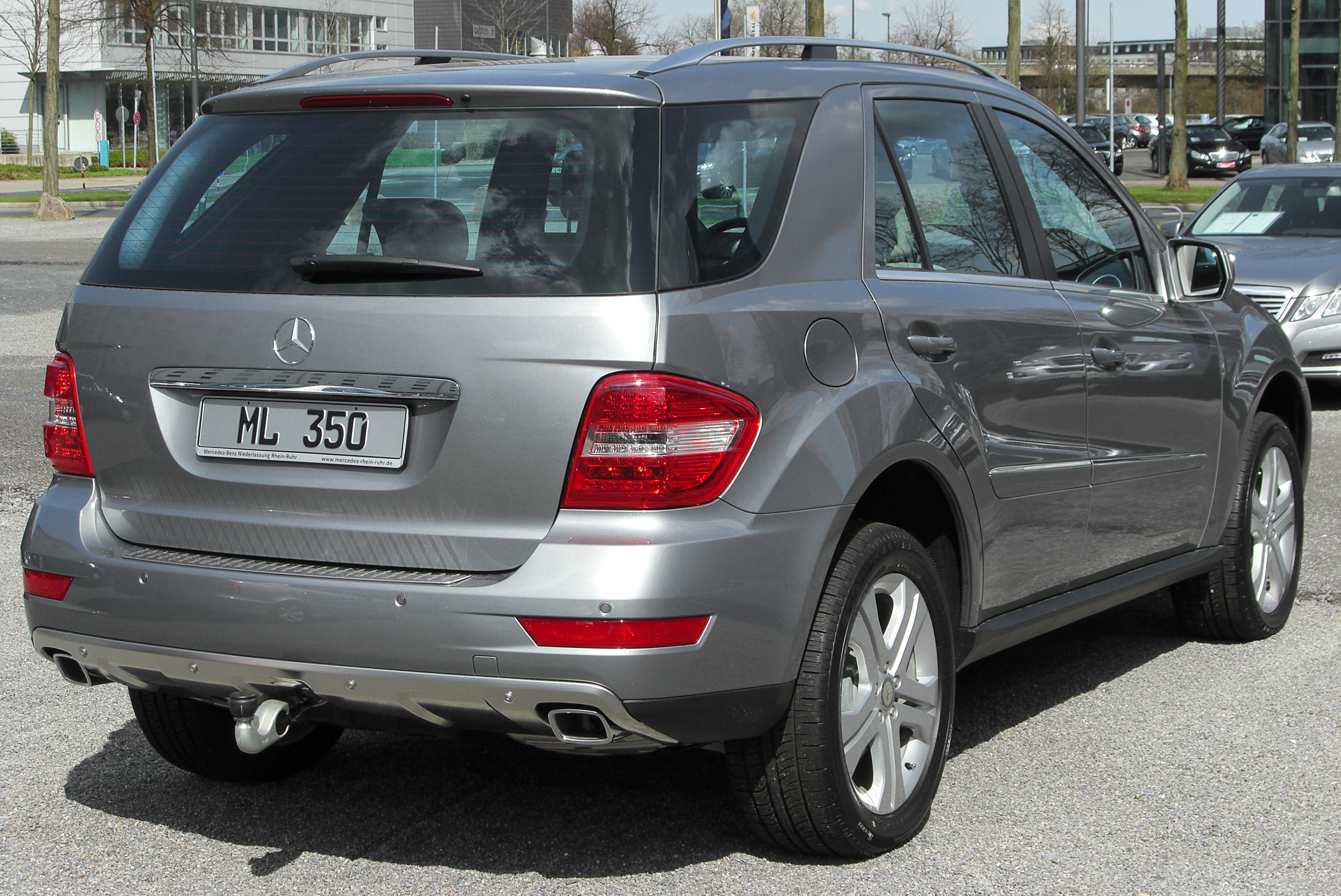 File Mercedes Ml 350 Cdi 4matic W164 Facelift Rear