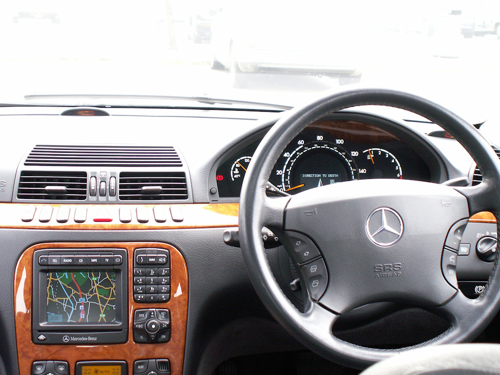 File Mercedes W220 Interior View Jpg Wikimedia Commons