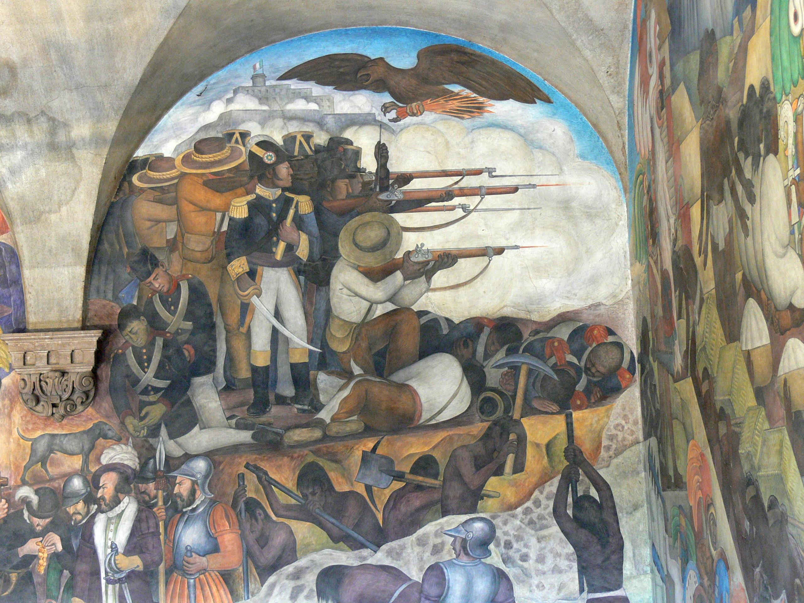 File murales rivera treppenhaus 1 wikimedia commons - Sculptures metalliques murales ...
