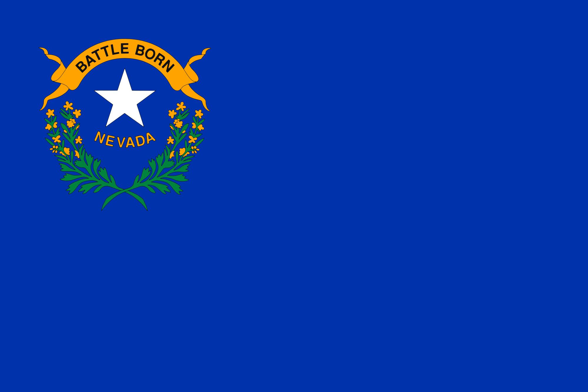 Filenevada state flagg wikimedia commons filenevada state flagg sciox Choice Image
