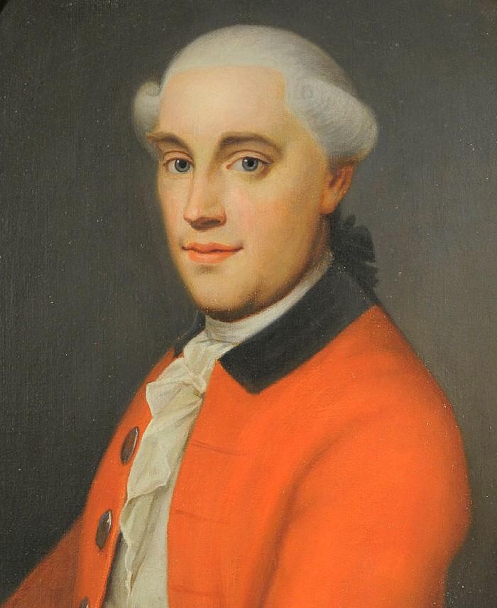 Reiersen painted by [[Erik Pauelsen]] in 1784