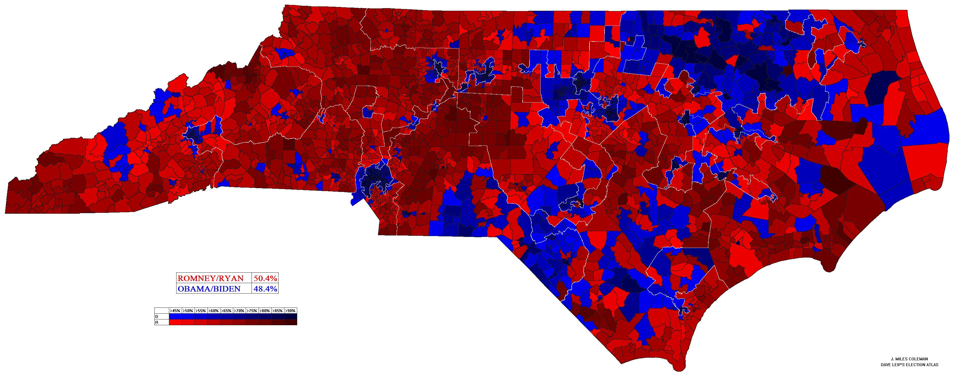 FileNorth Carolina 2012 Presidential Election By Voting