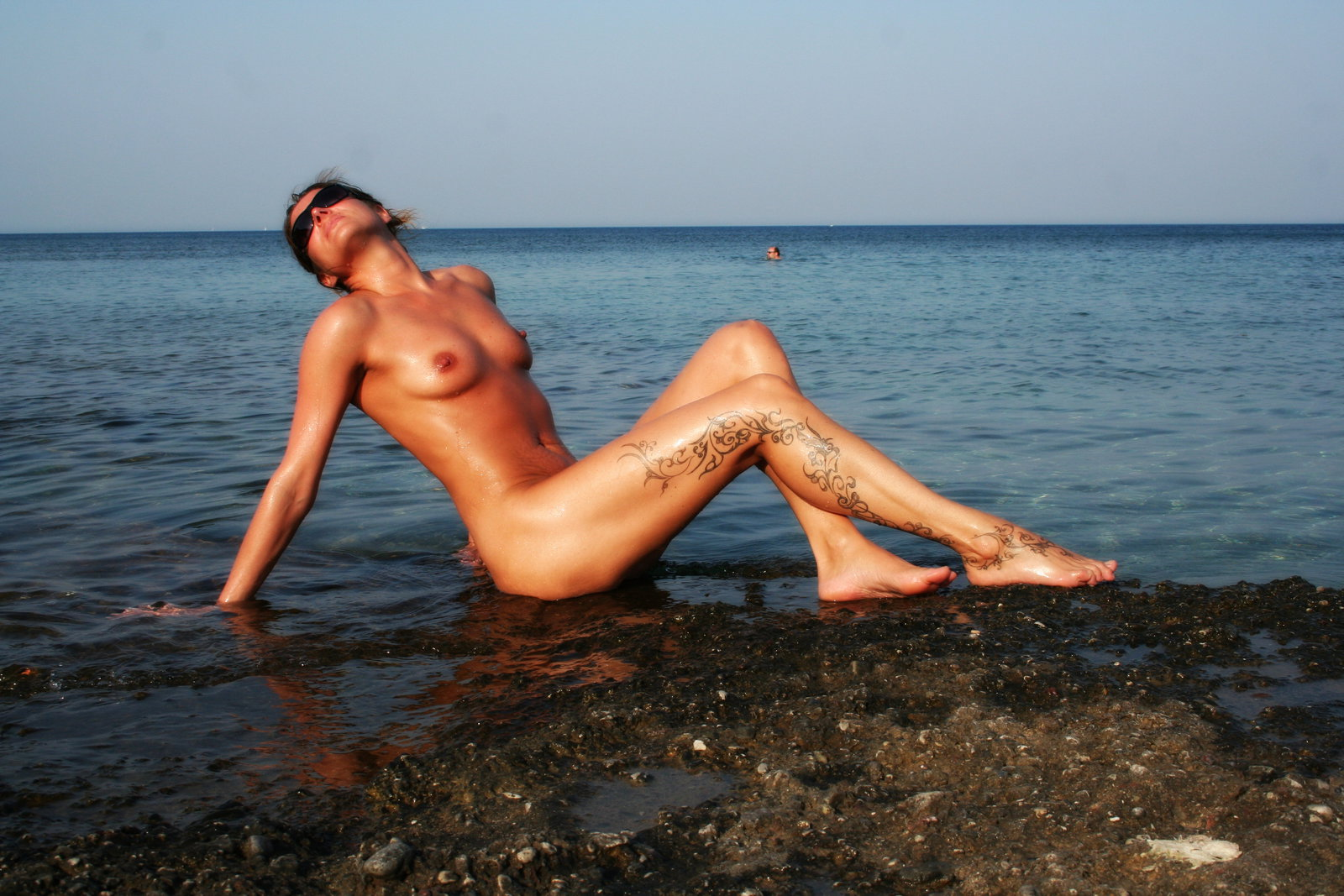 Naked beach women greek on
