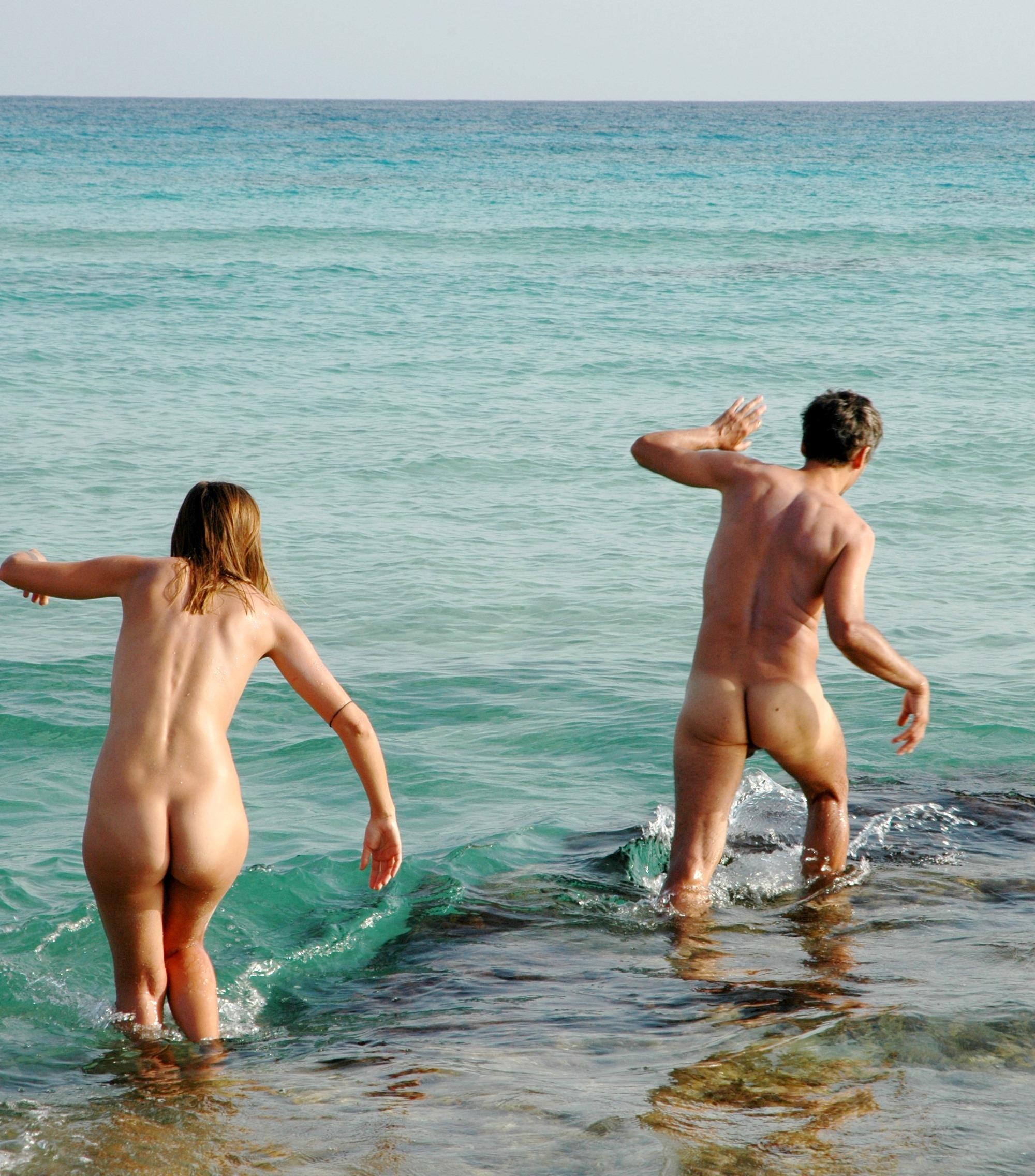 Nacktbaden auf Formentera