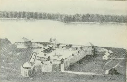 Old Fort Madison, built in 1808 - History of Iowa.jpg