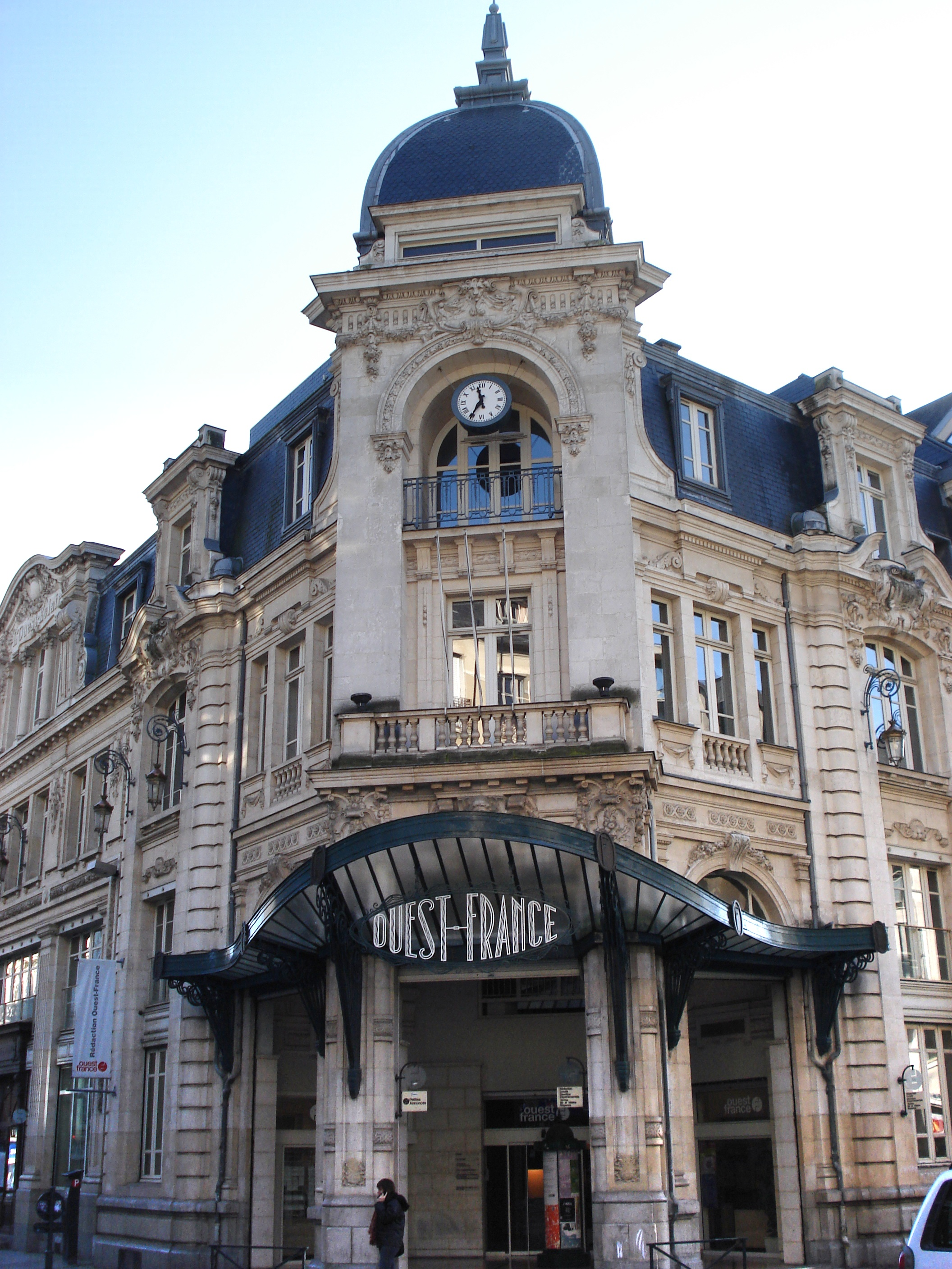 Rennes France  City pictures : Ouest France Rennes Wikimedia Commons
