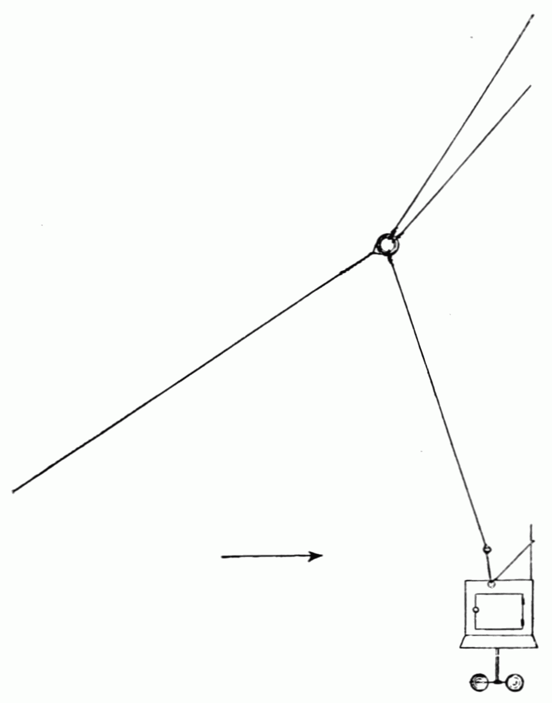 Popular Science Monthly Volume 53 May 1898 Kite Flying In 1897 Diagram Psm V53 D068 Tandem Hookup For Meteorograph