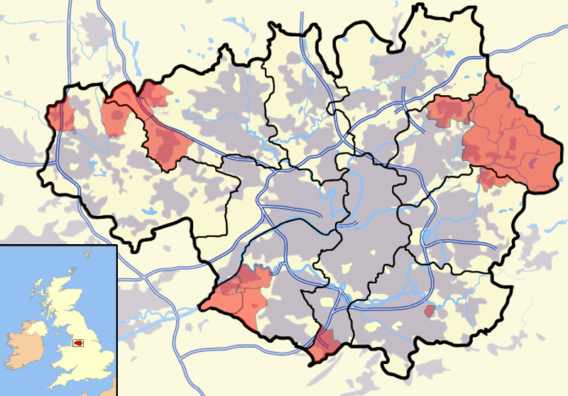 Civil parishes in Greater Manchester - Wikipedia