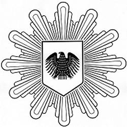 Deutsch: Logo der Polizei beim Deutschen Bundestag