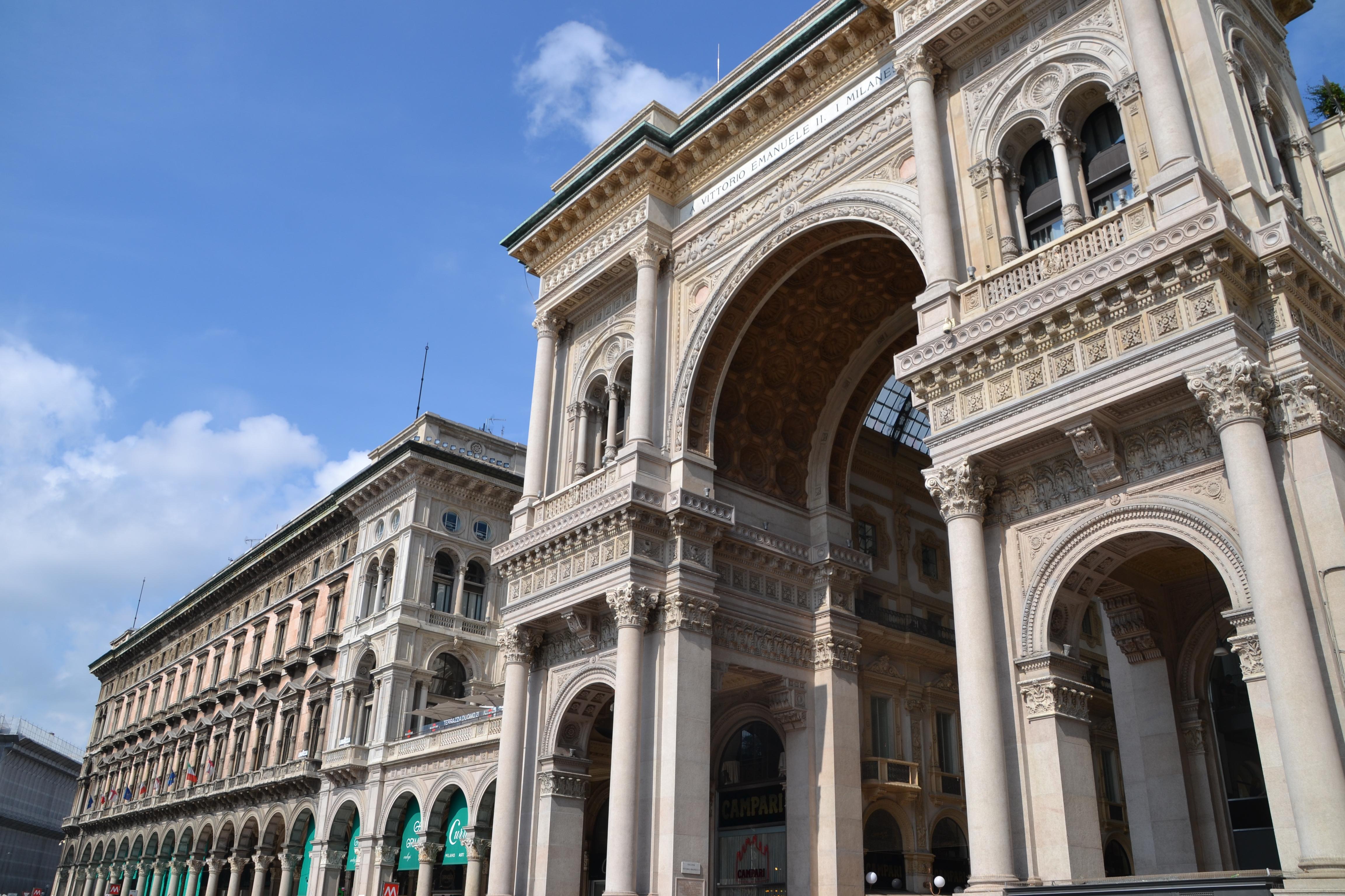 File Portici Settentionali Piazza Duomo Milano Jpg