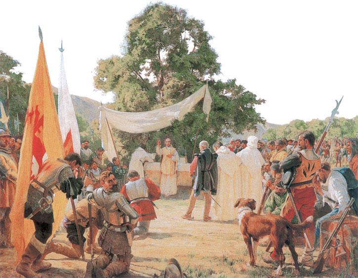Archivo:Primera Misa en Chile.jpg - Wikipedia, la enciclopedia libre