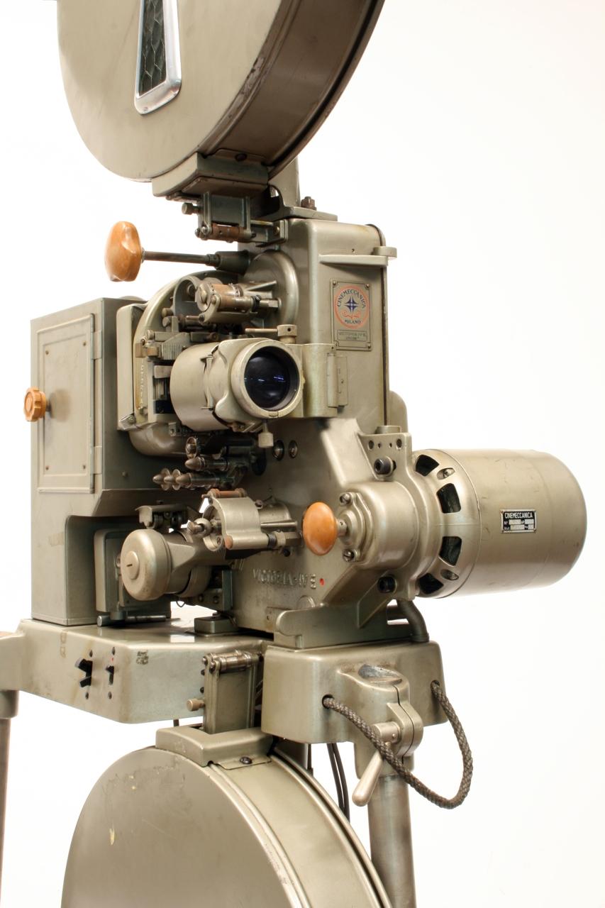 file proiettore cinematografico sonoro elettrico per