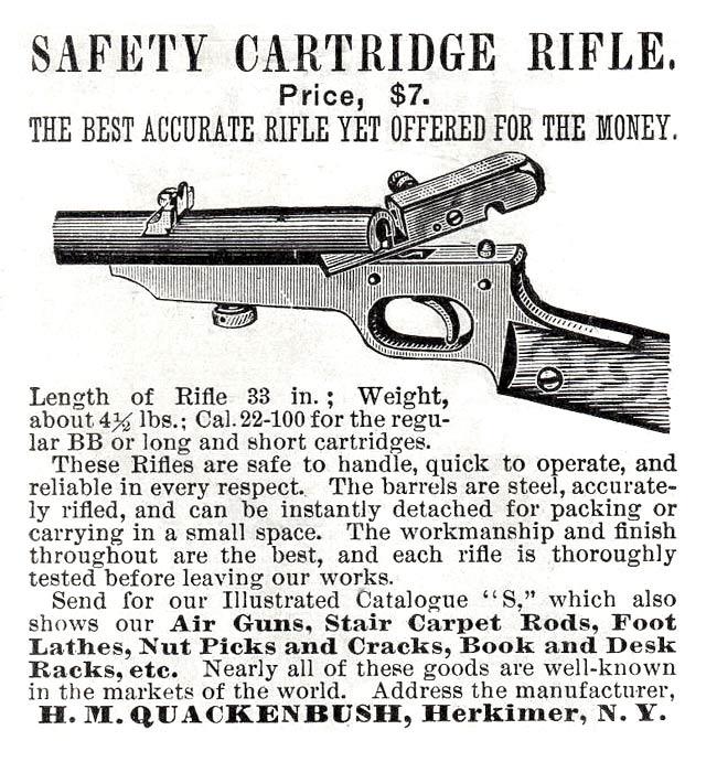 Quackenbush Rifle