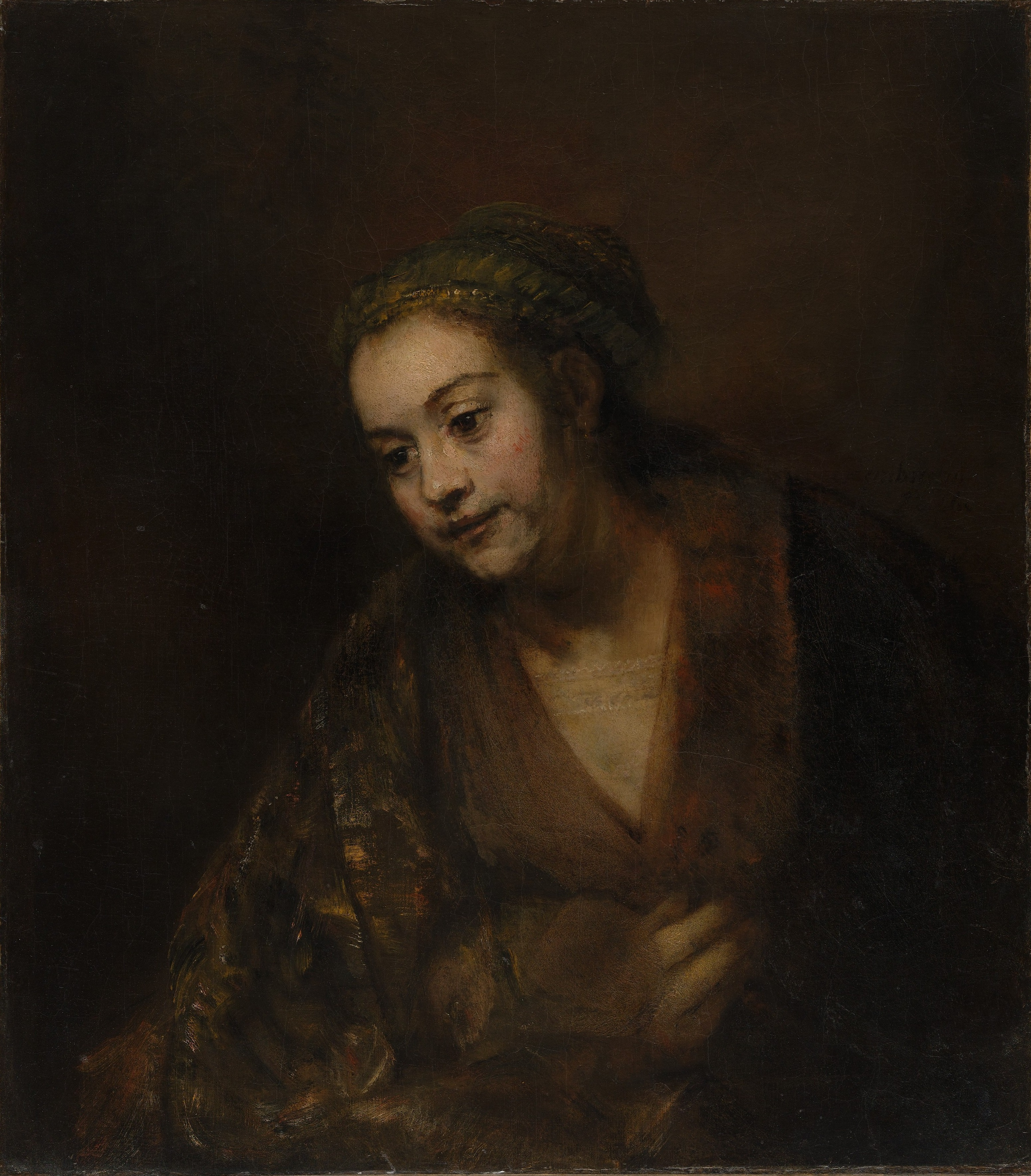 Rembrandt S Painting Of His Mother Rijksmuseum