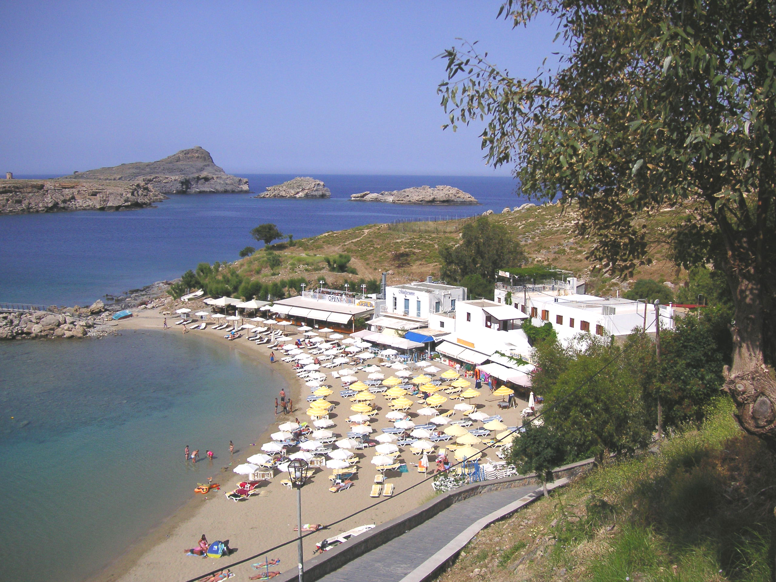 Lindos On The Island Of Rhodes