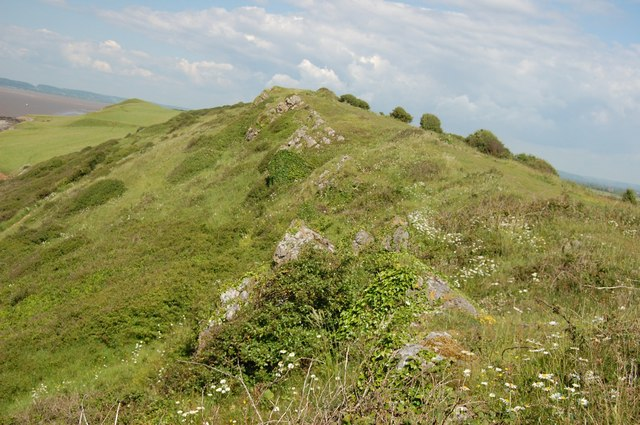 Ridge near Sand Point - geograph.org.uk - 904873