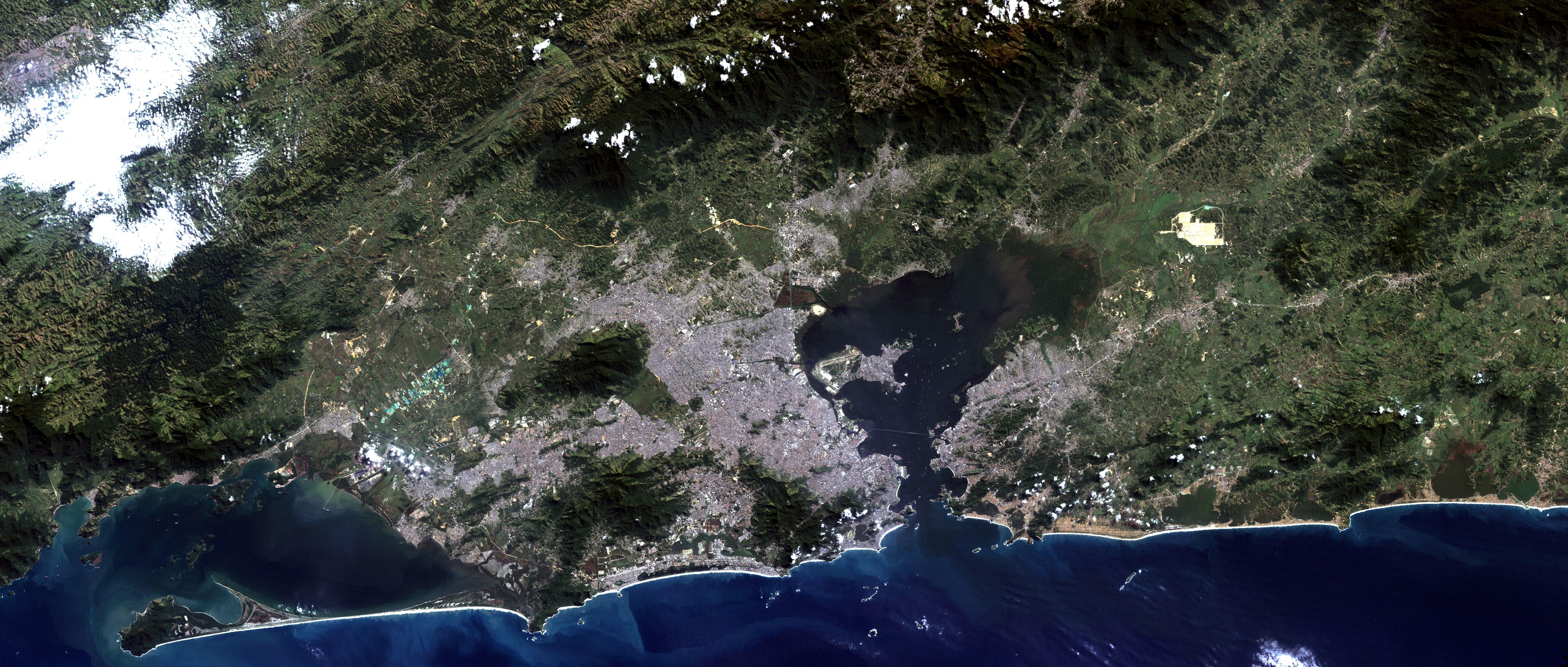 File Rio De Janeiro Satellite Image Landsat 5 2011 05