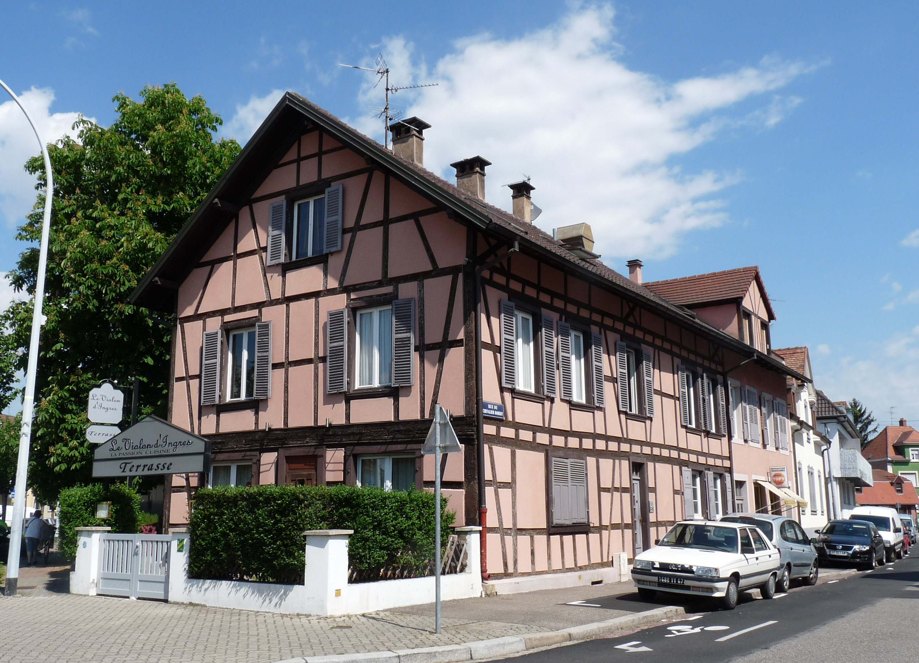 Restaurant Le Violon Strasbourg
