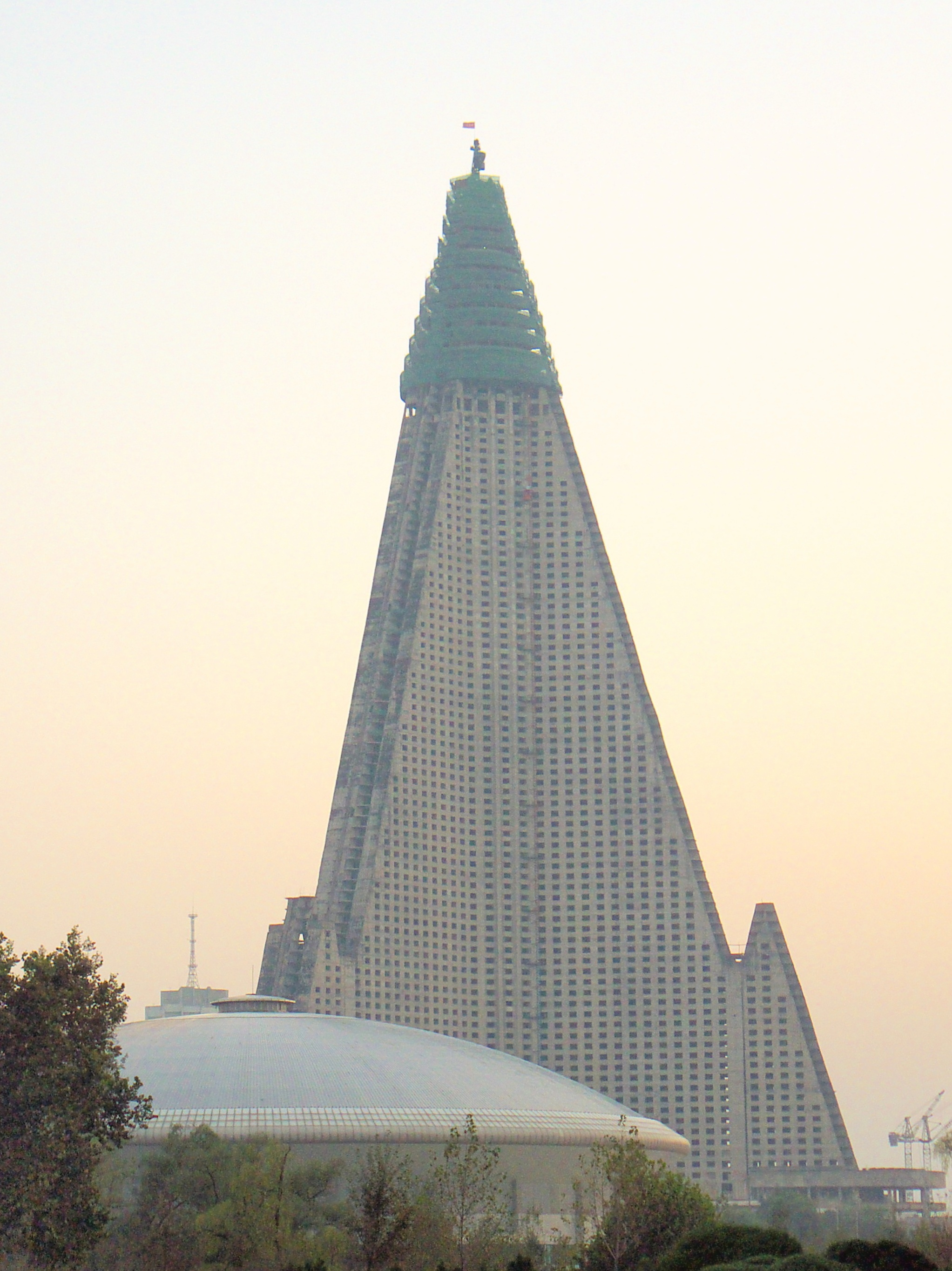 Image result for Ryugyong Hotel - Pyongyang, North Korea