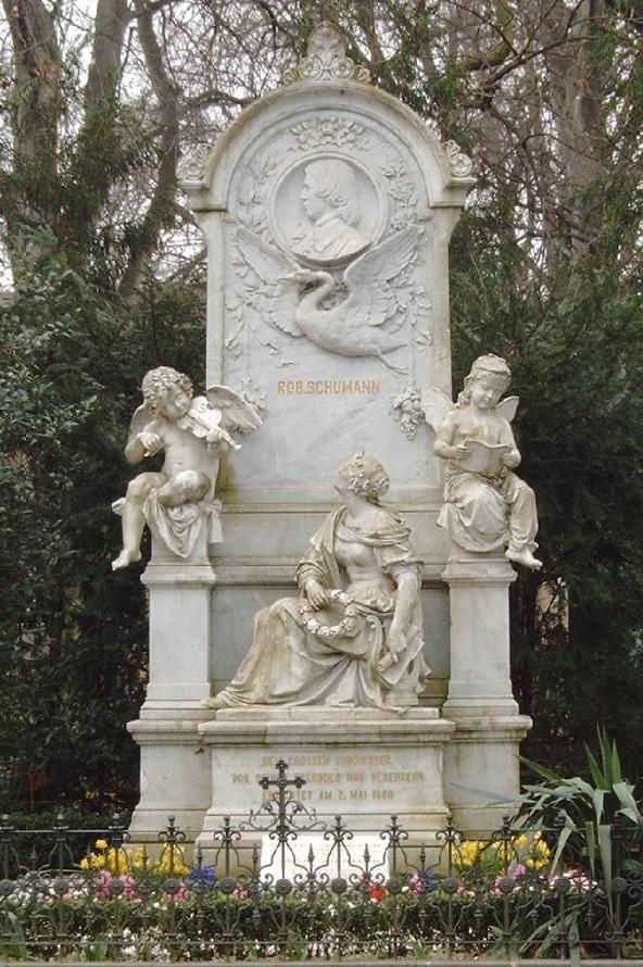 Tumba de Robert Schumann.