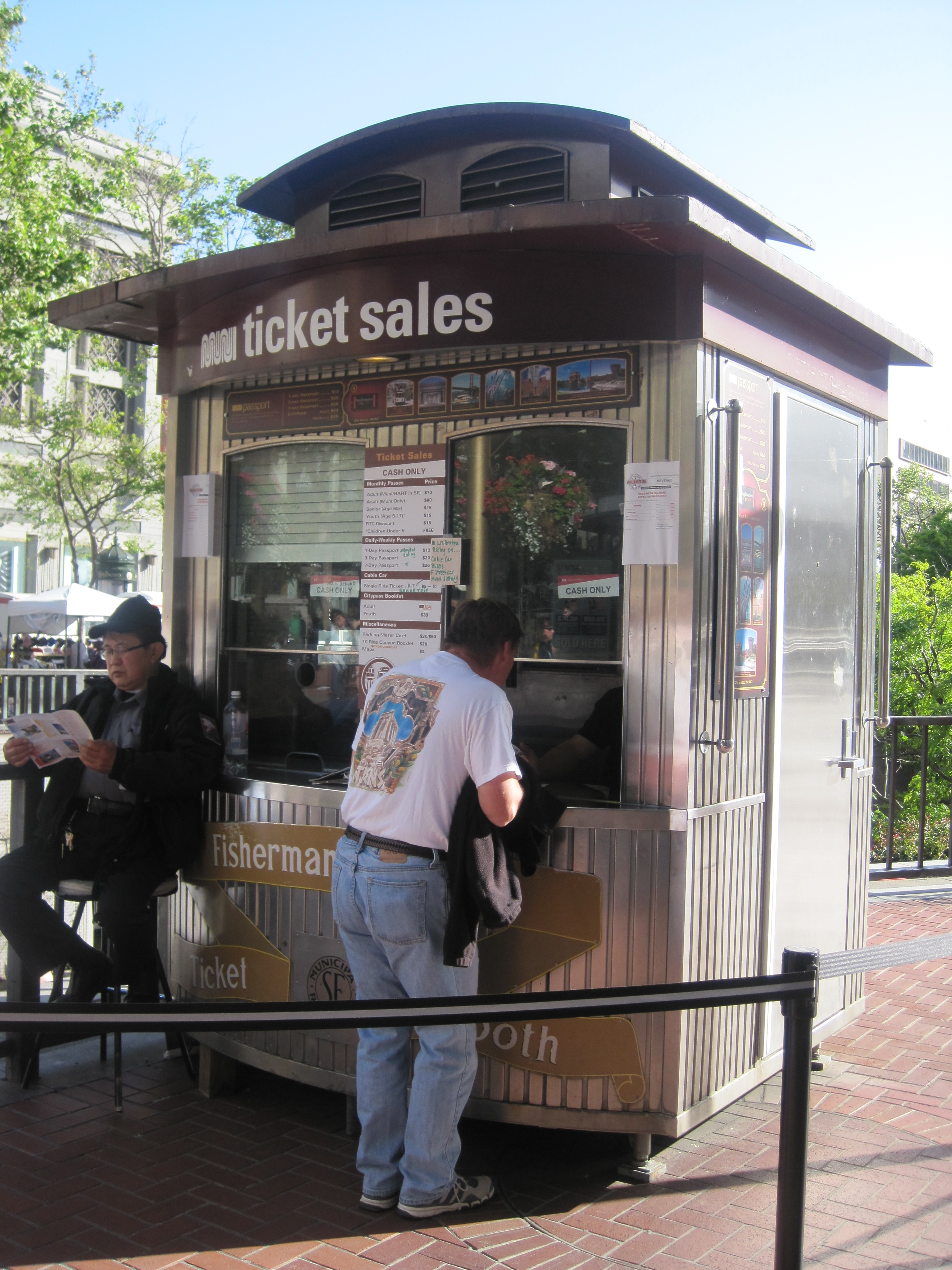 foto How to Buy a Cable Car Ticket in San Francisco