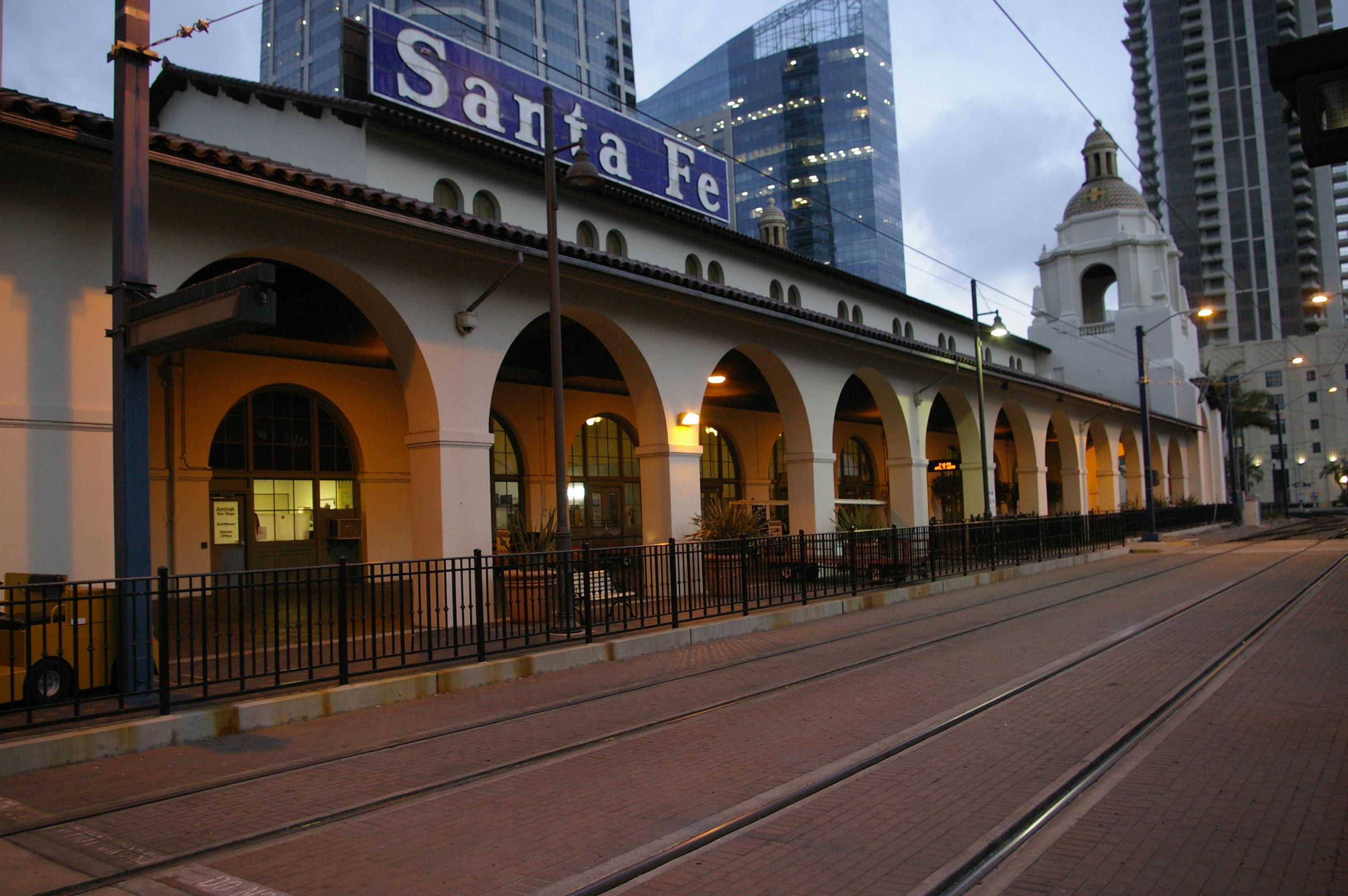 File San Diego Santa Fe Depot 14 Jpg Wikimedia Commons