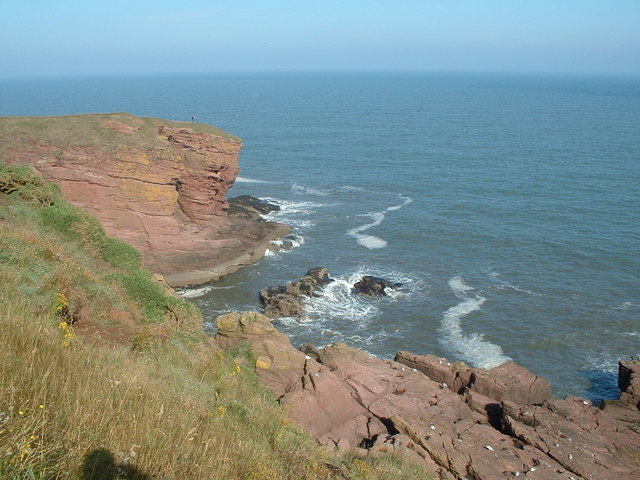 Seaton Cliffs from the west - geograph.org.uk - 354005