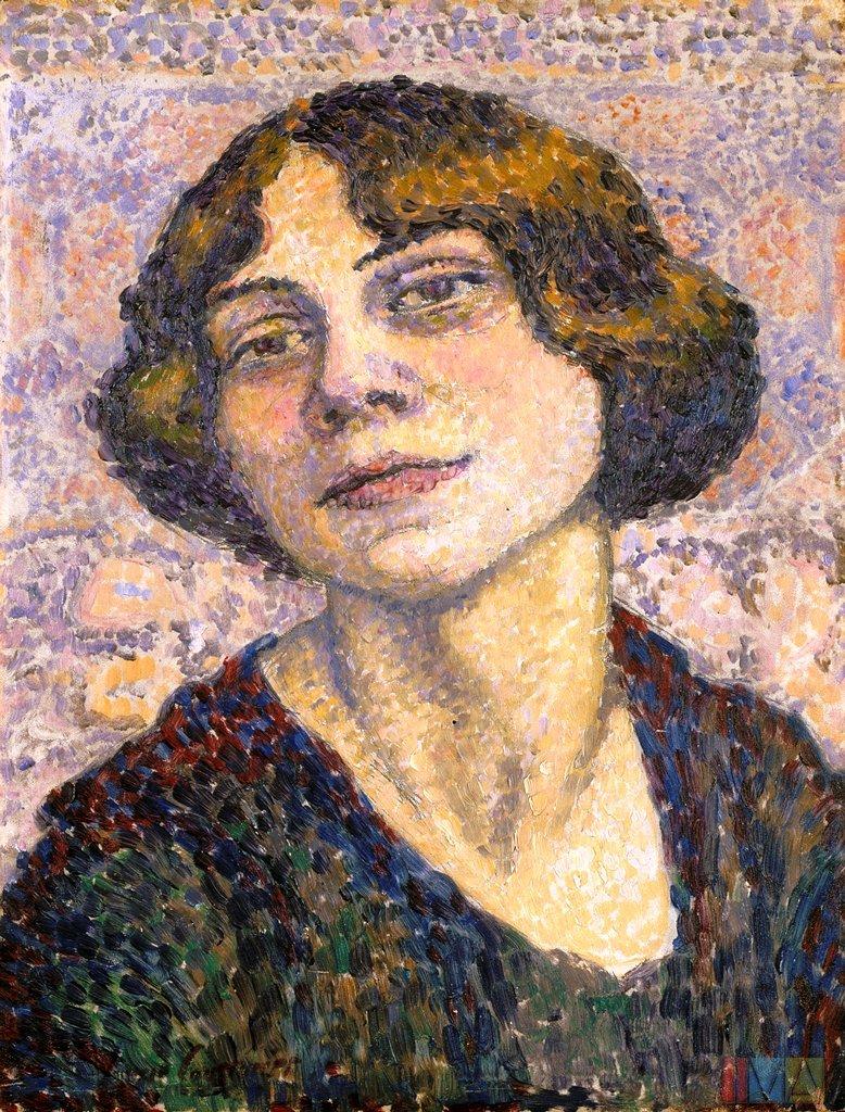 Self portrait (1905-10)