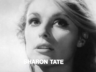 Sharon Tate in the trailer for the film Eye of the Devil. Sharon Tate in Eye of the Devil trailer 2.jpg