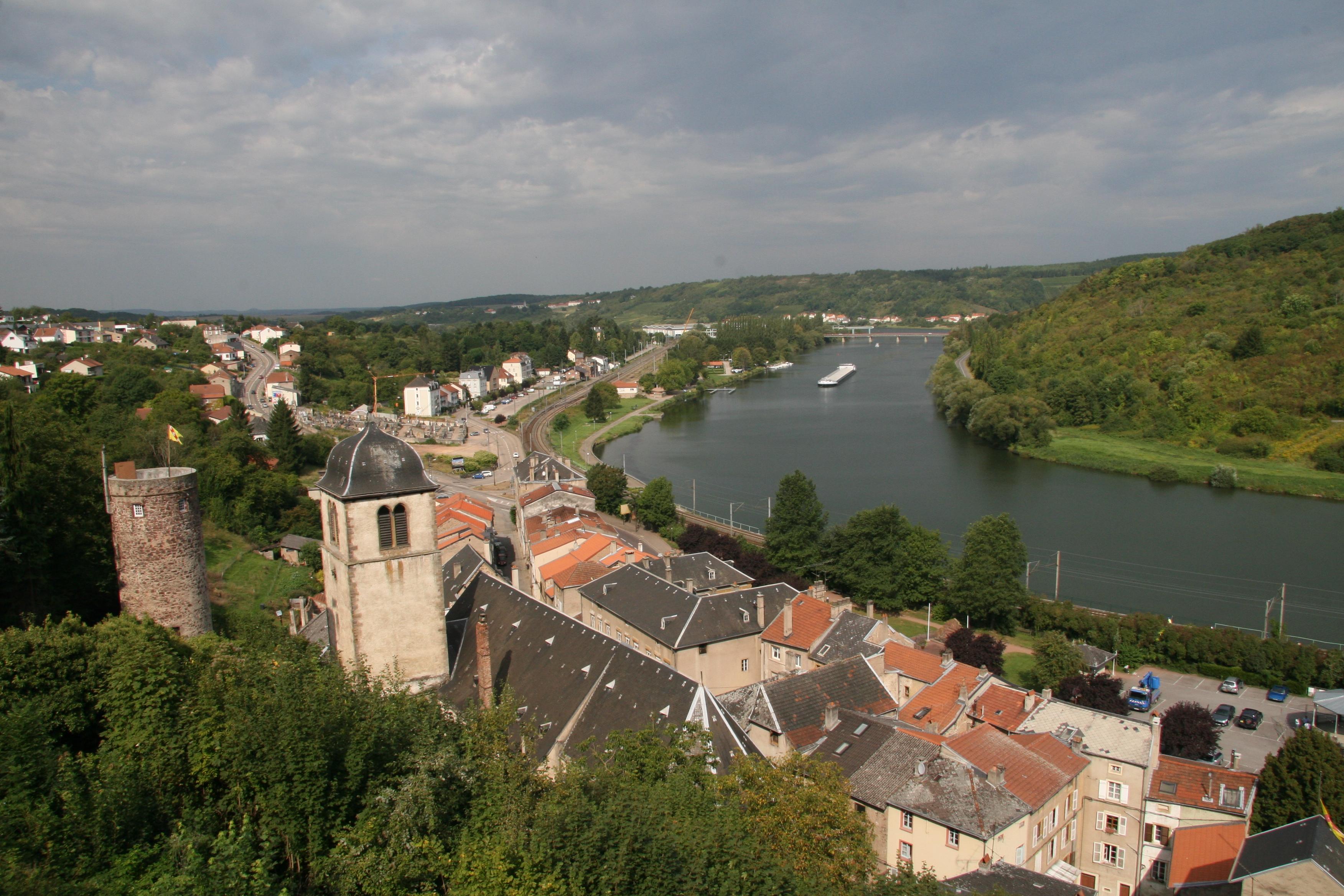 File:Sierck les Bains Lorrainelorraine town
