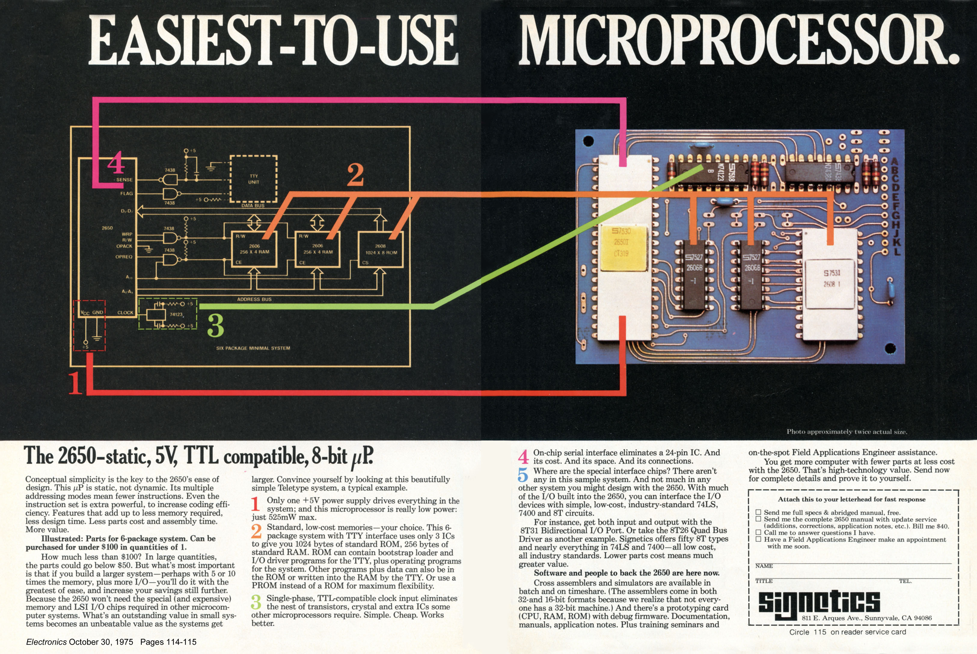 Signetics_2650_microprocessor_October_19