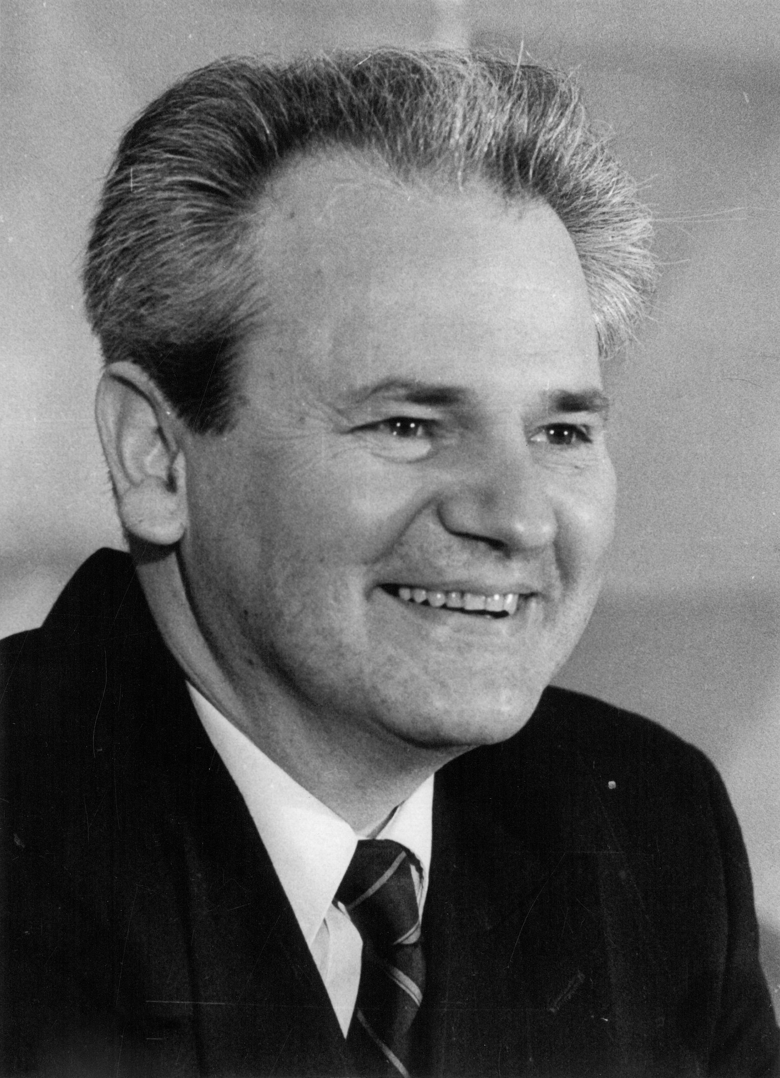 Stevan Kragujevic, Slobodan Milosevic, portret.jpg