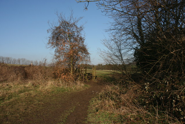 Stile on the Darent Valley Path north of Shoreham - geograph.org.uk - 1732113