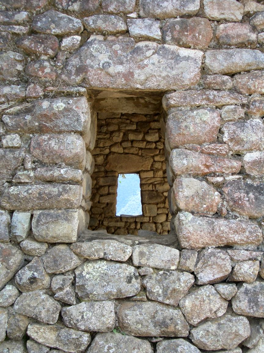 Stone windows macchupichu