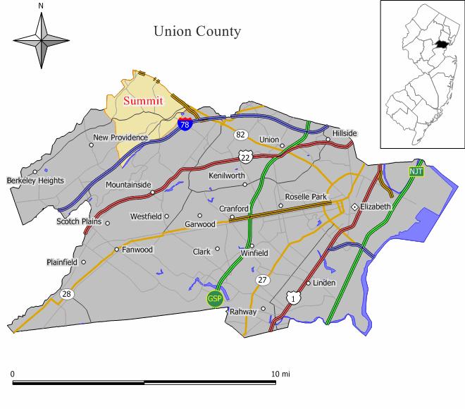 Summit, New Jersey - Wikipedia