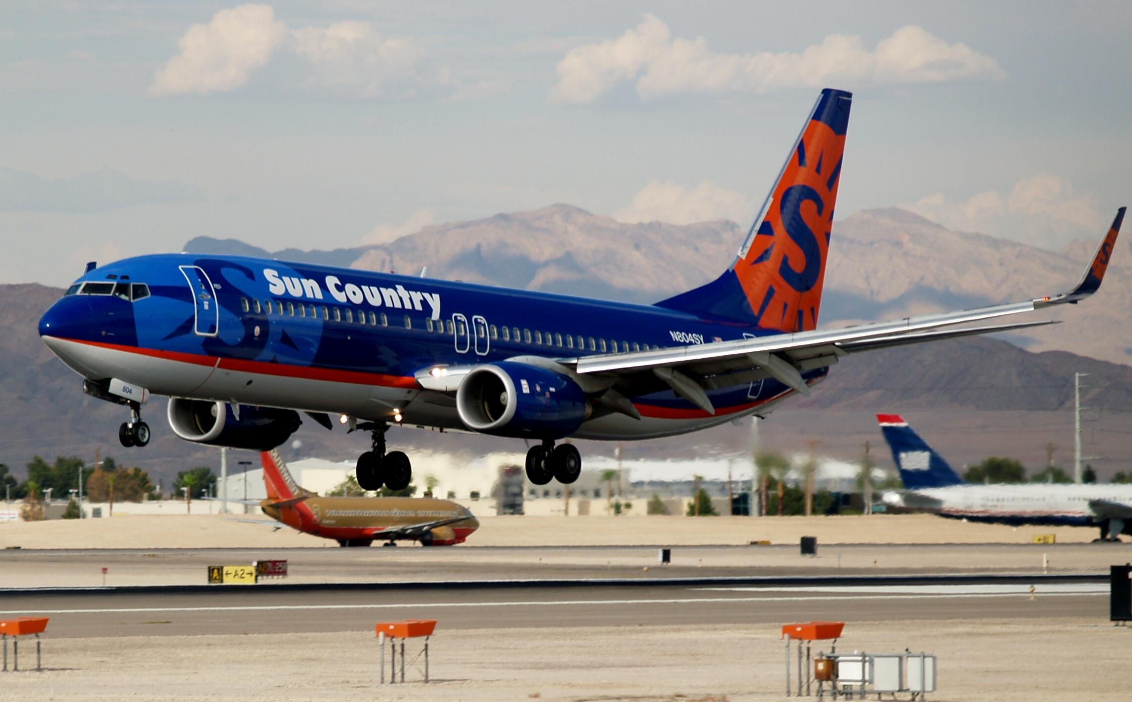 Sun Country remodels plane interiors, eliminating first class and adding slimmer seats