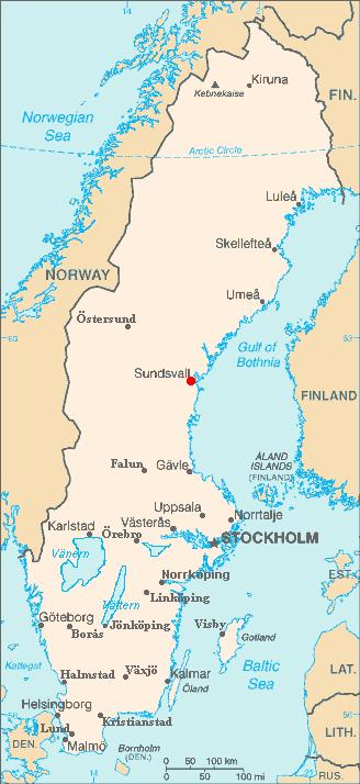 FileSundsvall In Swedenpng Wikimedia Commons - Sweden map sundsvall